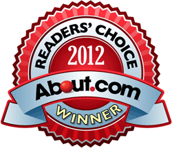 About.com Winner 2012 Badge Home Page for Natural Health Techniques with Dr. Denice Moffat
